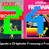 Pixel Velho 24 – Não Iguais e Originais: Freeway e Frogger